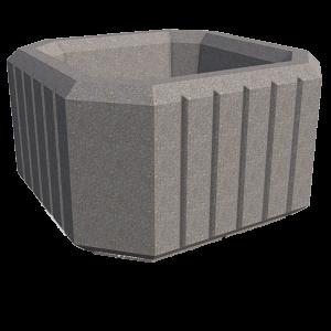 Puķu podi - betona