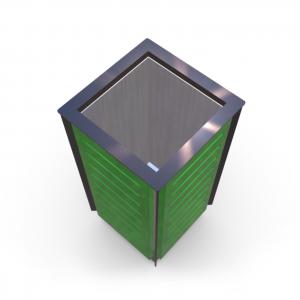 Atkritumu urna UM-16.1 (ar skārda ieliktni)