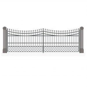 Распашные ворота Nr.14