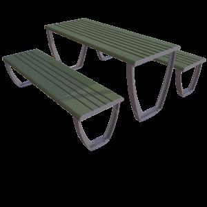 Parka galdi - komplekti