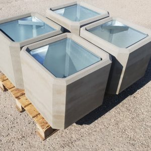 Atkritumu urna UB-4 (ar skārda ieliktni)