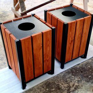 Atkritumu urna UK-2.1 (ar skārda ieliktni)