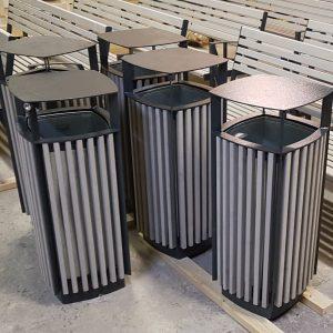 Atkritumu urna UK-10.2 (ar skārda ieliktni)