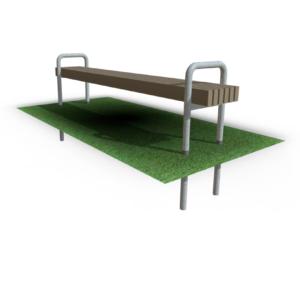 Скамейка парковая SM-23