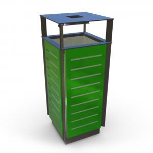 Atkritumu urna UM-16.3 (ar skārda ieliktni)