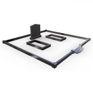 оградка 3×5 метра (черный гранит) KS-11.5