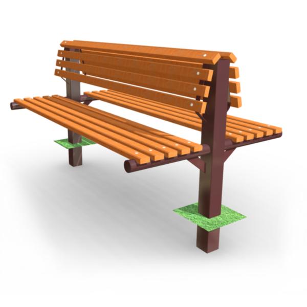 Скамейка парковая SM-21