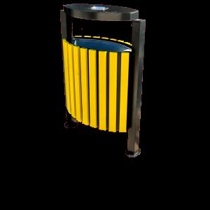 Atkritumu urnas - koka