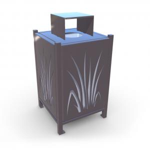 Atkritumu urna UM-7 (ar skārda ieliktni)