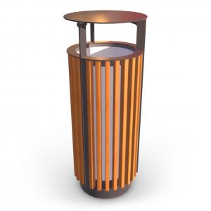 Урна для мусора UK-11.2 (с жестяной вставкой)