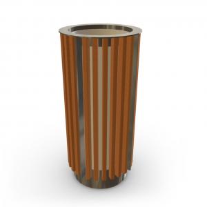 Урна для мусора UM-15.1 (с жестяной вставкой)