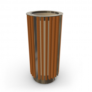 Atkritumu urna UM-15.1 (ar skārda ieliktni)