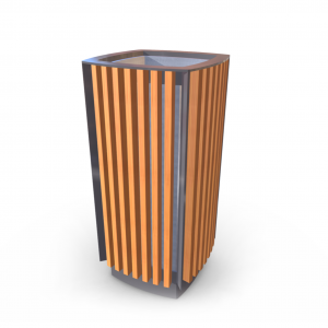 Урна для мусора UM-14.1 (с жестяной вставкой)