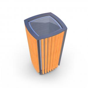 Atkritumu urna UM-14.1 (ar skārda ieliktni)