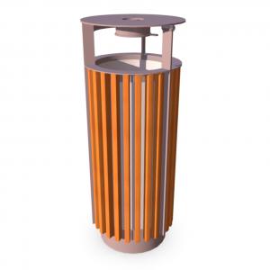 Урна для мусора UM-15.3 (с жестяной вставкой)