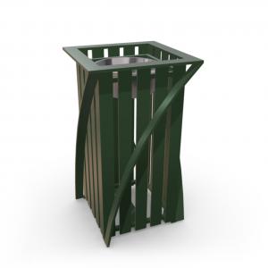 Урна для мусора UM-4 (с жестяной вставкой)