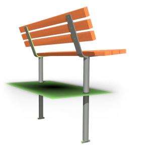 Парковая скамейка SC-12.1
