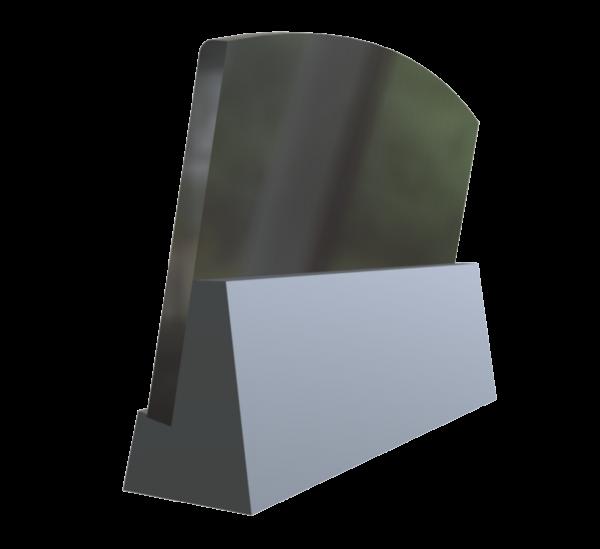 Piemiņas plāksne 30x400x600 (ar gravējumu)