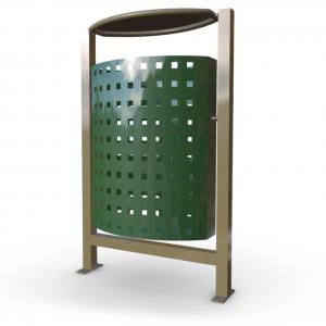 Atkritumu urna UM-1 (ar skārda ieliktni)