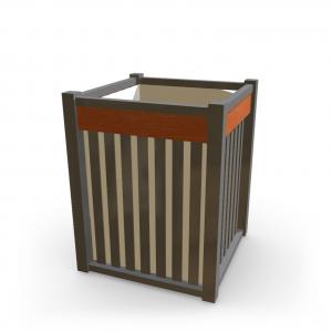 Atkritumu urna UM-2 (ar skārda ieliktni)
